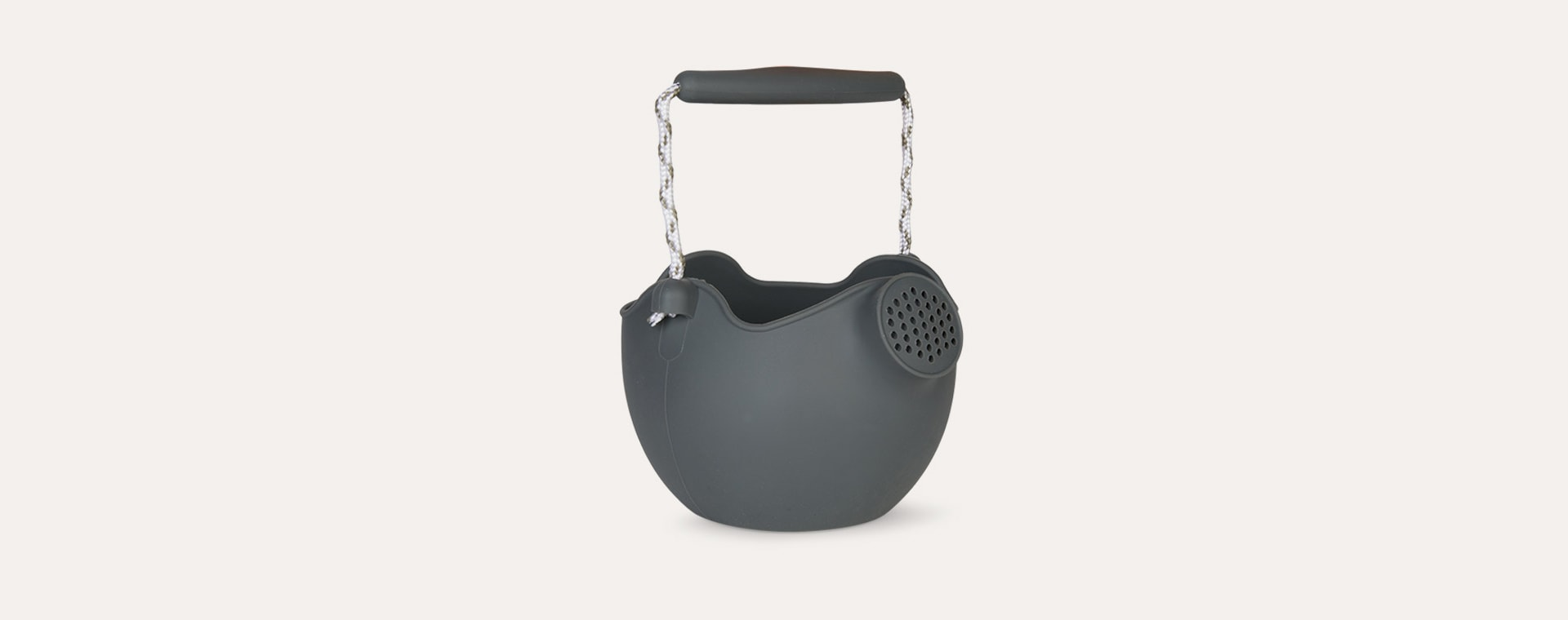 Charcoal Scrunch Watering Can