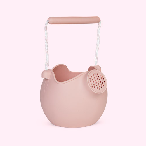 Dusty Rose Scrunch Watering Can