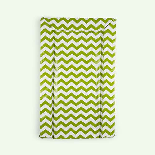 Lime East Coast Nursery Chevron Changing Mat