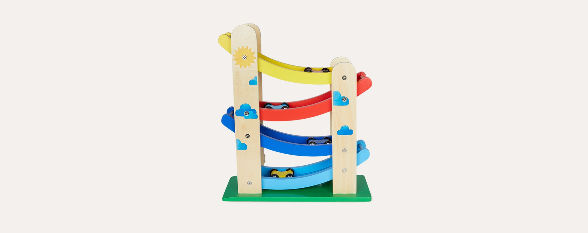 Multi Moulin Roty Wooden Cascading Cars