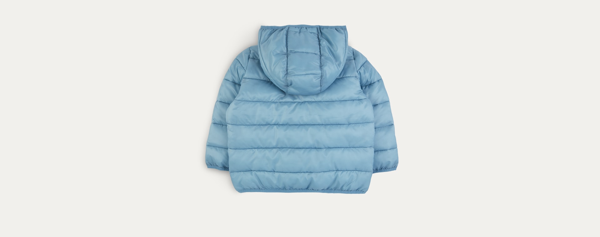 Teal KIDLY Label Recycled Puffer