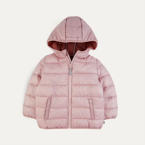 Rose KIDLY Label Recycled Puffer