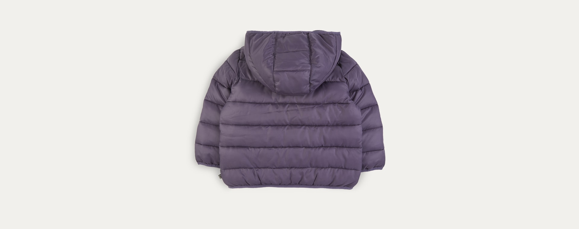Blueberry KIDLY Label Recycled Puffer