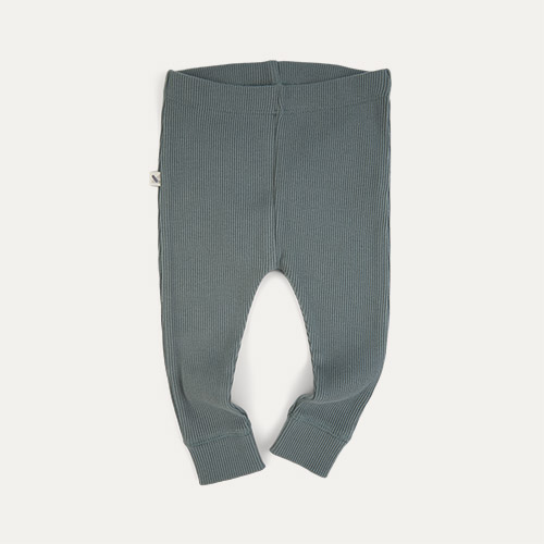Eucalyptus KIDLY Label Organic Ribbed Legging