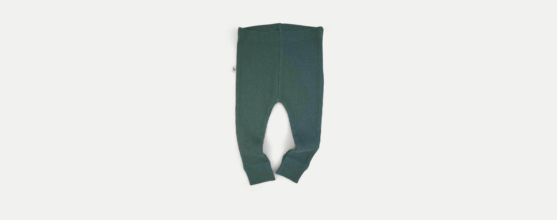 Pine KIDLY Label Organic Ribbed Legging